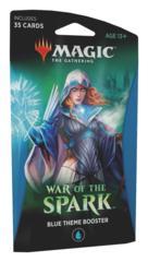 Тематический бустер выпуска «War Of Spark»: Blue (английский)