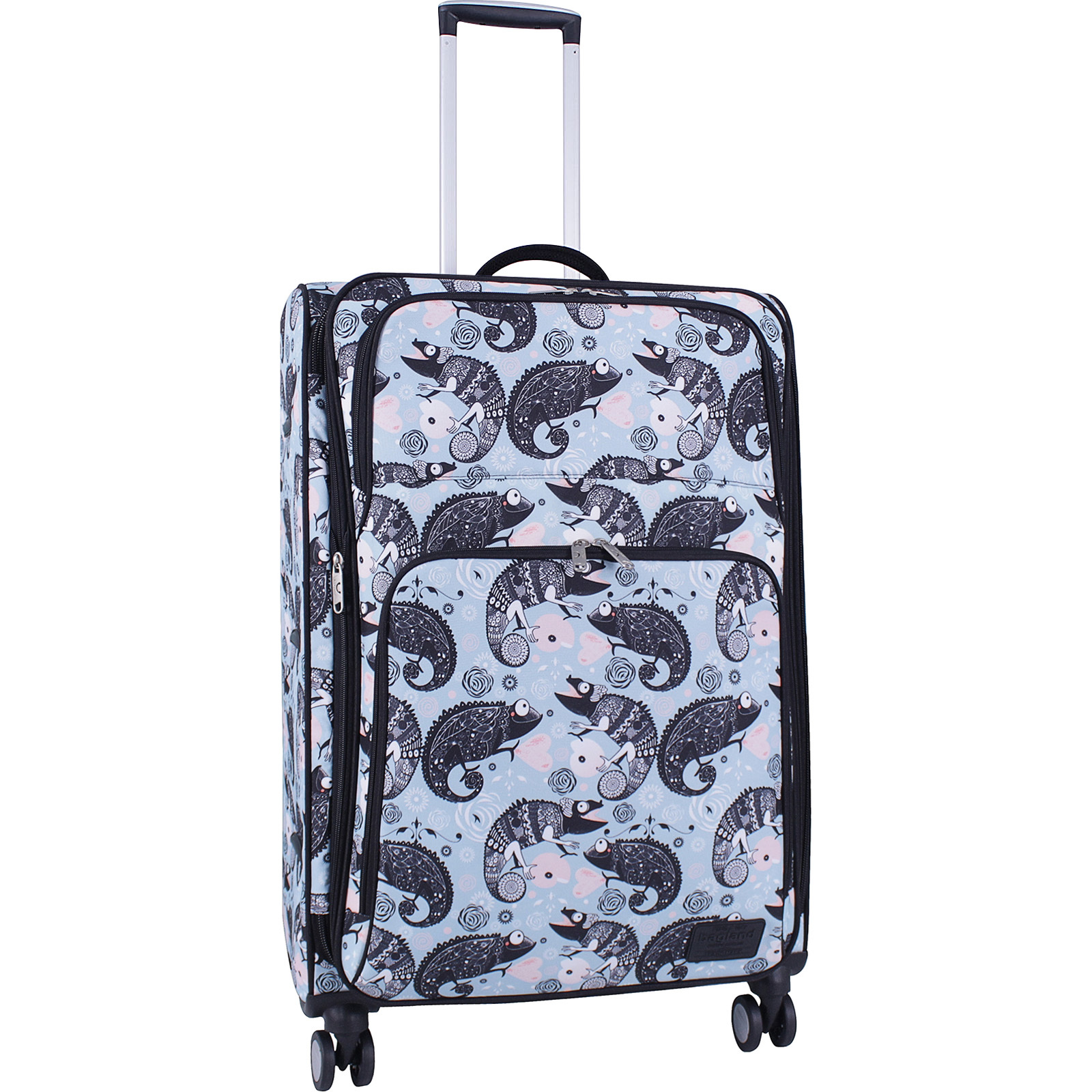 Дорожные чемоданы Чемодан Bagland Валенсия большой дизайн 83 л. сублімація 656 (0037966274) IMG_5038_суб.656_.JPG