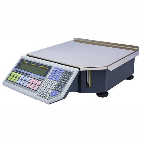 Весы с печатью этикеток ШТРИХ-ПРИНТ ФI 15-2.5 Д2И1 (v.4.5), 15кг, 2гр, 350x310, ГОСТ Р 53228, без стойки