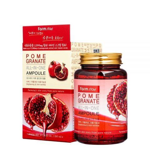 Сыворотка всё-в-одном с экстрактом граната FARMSTAY Pomegranate All-In-One Ampoule