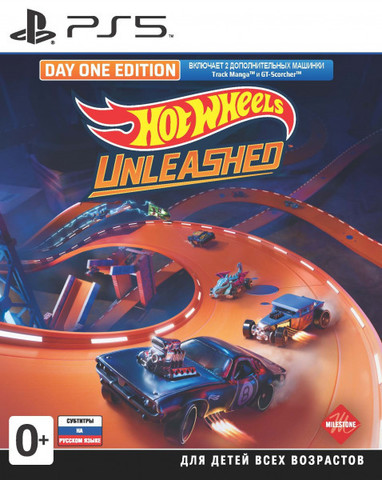Hot Wheels Unleashed. Day One Edition (PS5, русские субтитры)