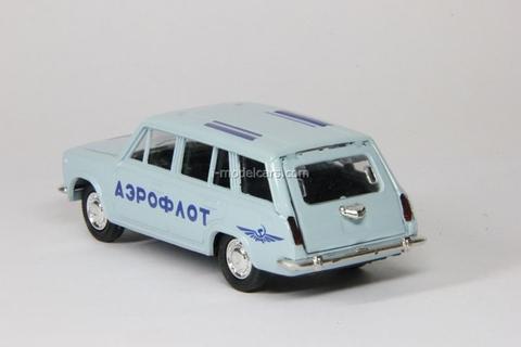 agat Tantal LADA Aeroflot 1//43 DIECAST MODEL CAR RUSSIA USSR BLUE Airport