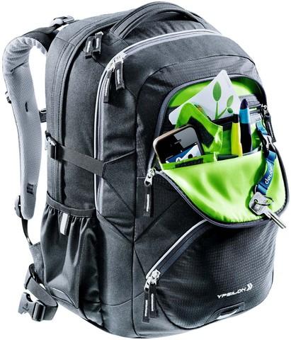 Картинка рюкзак школьный Deuter ypsilon Magenta-Arrowcheck - 4