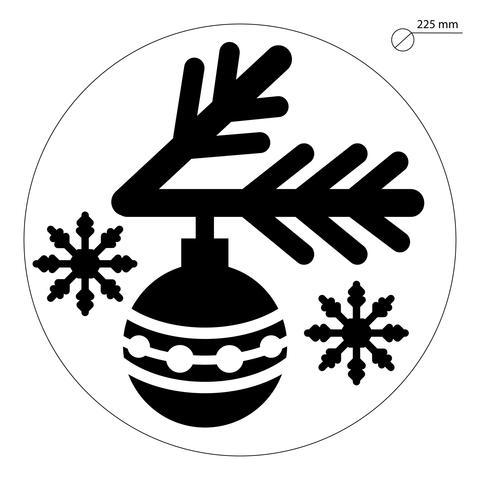 009-6284 - Трафарет для Часов