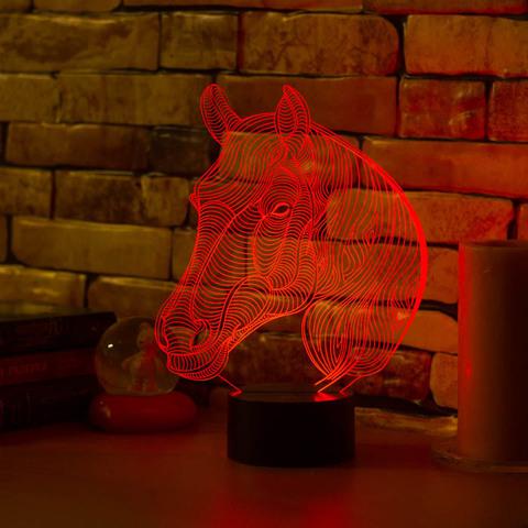 Art-Lamps Лошадь с гривой