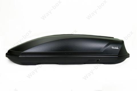 Автобокс Way-box 520 литров чёрный