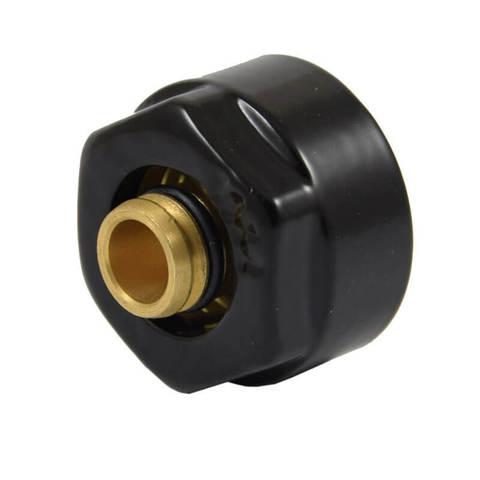 Резьбовое соединение для пластиковых труб чёрное GW 3/4 x 16x2