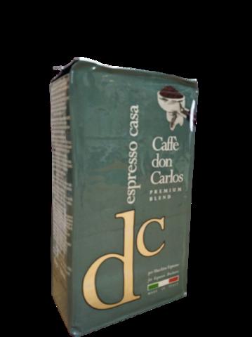 Carraro Don Carlos Espresso Casa 250г. Кофе молотый