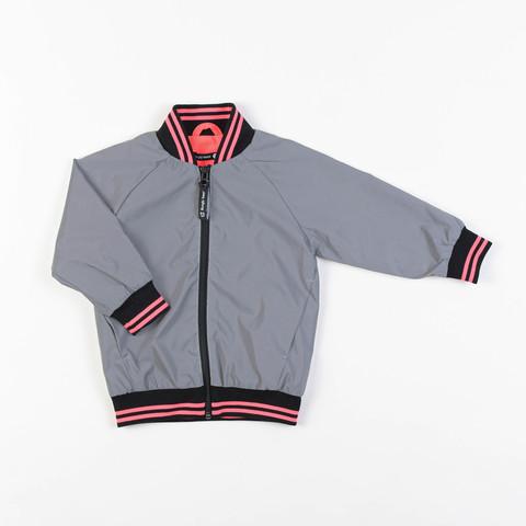 Reflective bomber jacket - Neon Pink