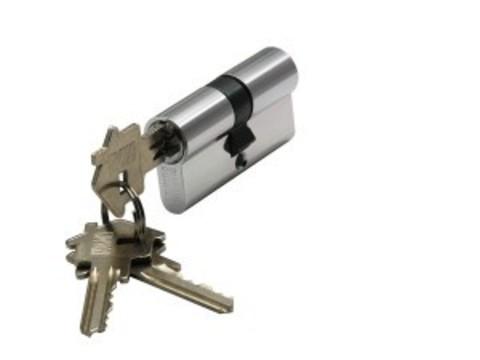 Цилиндр ключ-ключ CYL 3-60 CHROME