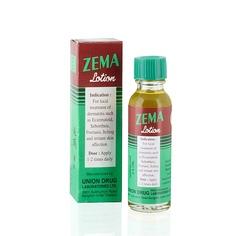 Лосьон Зема для лечения дерматитов, грибковых поражений кожи, угревой сыпи  и др. кожных заболеваний
