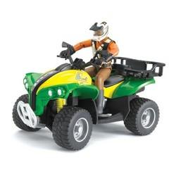 Bruder Квадроцикл с гонщиком (63-000)