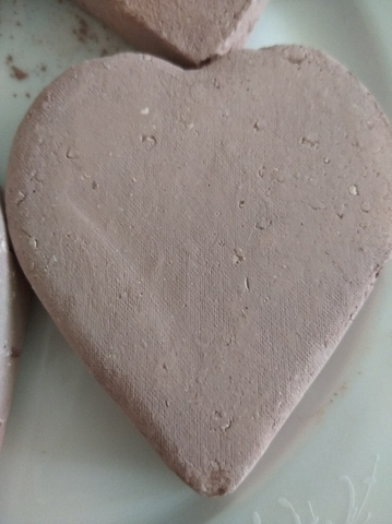 Сердце с глиной Бордо