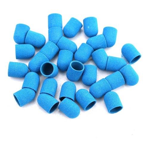 Колпачок абразивный (синий), 10*15, 180 грит