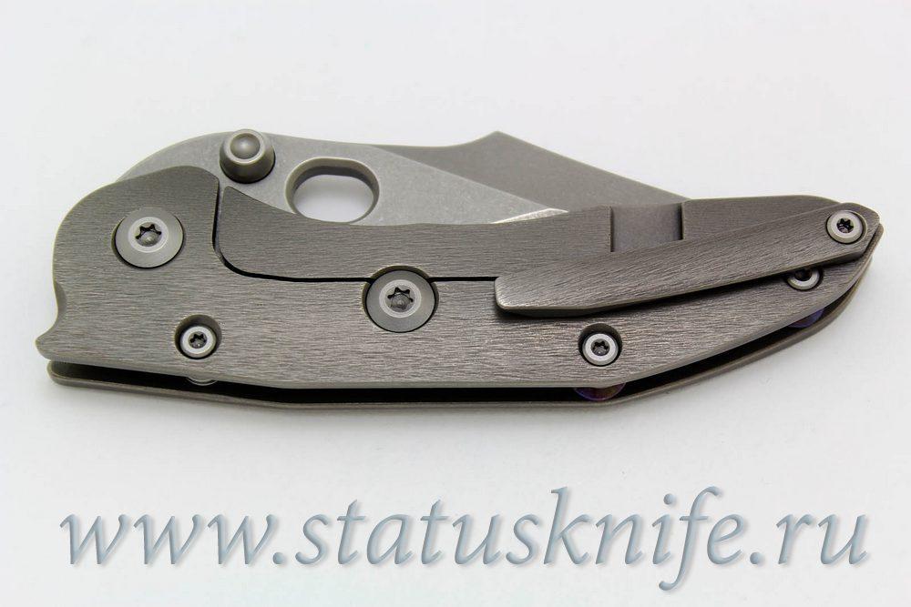 Нож Borka Blades Stitch with Rare Compound Grind 1of 2 Made - фотография