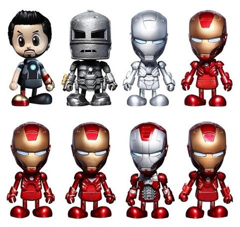Железный человек набор фигурок CosBaby серия 01 — Iron Man