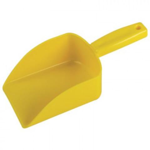 Совок Hillbrush бесшовный 110х145 мм желтый