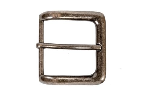 Пряжка для ремней 39 мм - состаренное серебро