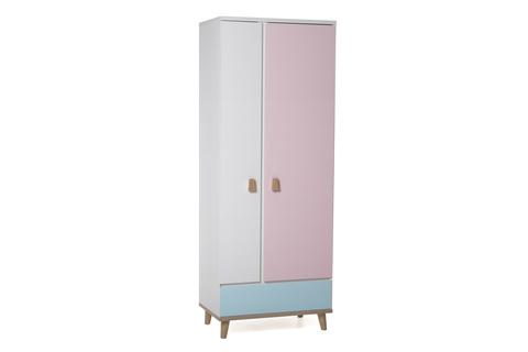 Шкаф LX 31 (розовый-принт)