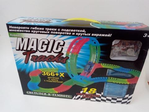 Гоночная трасса Magic Tracks, 366 деталей, Мертвая петля, 1 машинка