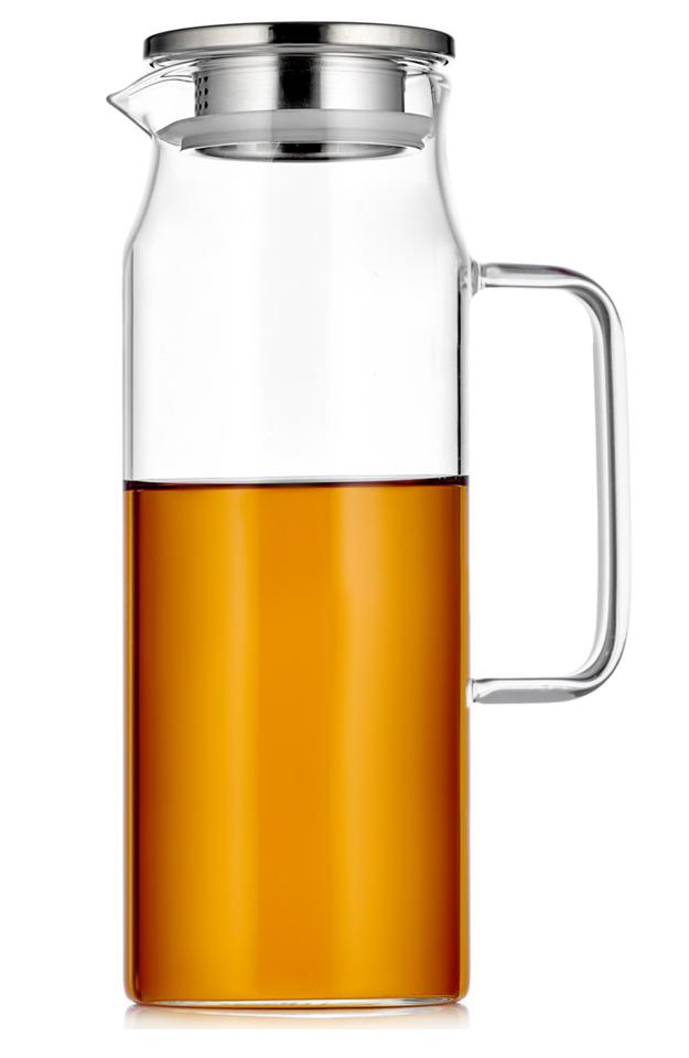 Кувшины, графины (для горячих и холодных напитков) Кувшин для воды Zeus Glaffe с фильтром в крышке стеклянный 1600 мл kuvshin-4-102-1800-teastar.PNG