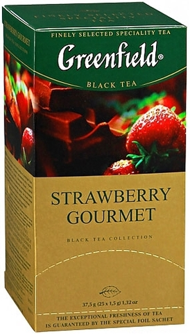 "Чай ""Greenfield"" Strawberry gourmet  25*1,5 г"