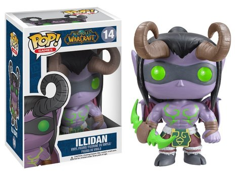Фигурка Funko POP! Vinyl: Games: WOW: Illidan  3374