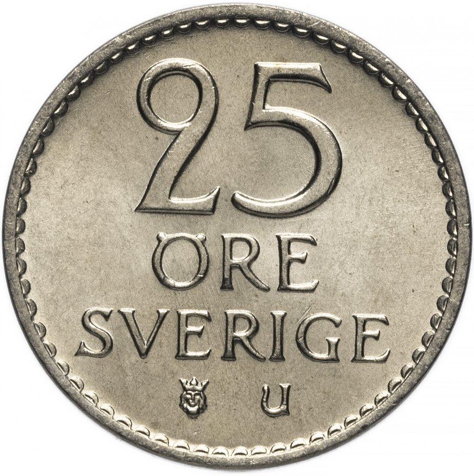 25 эре. Швеция. 1973 год. UNC