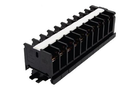 Блок зажимов наборный БЗН 30А на DIN-рейку 10 пар TDM