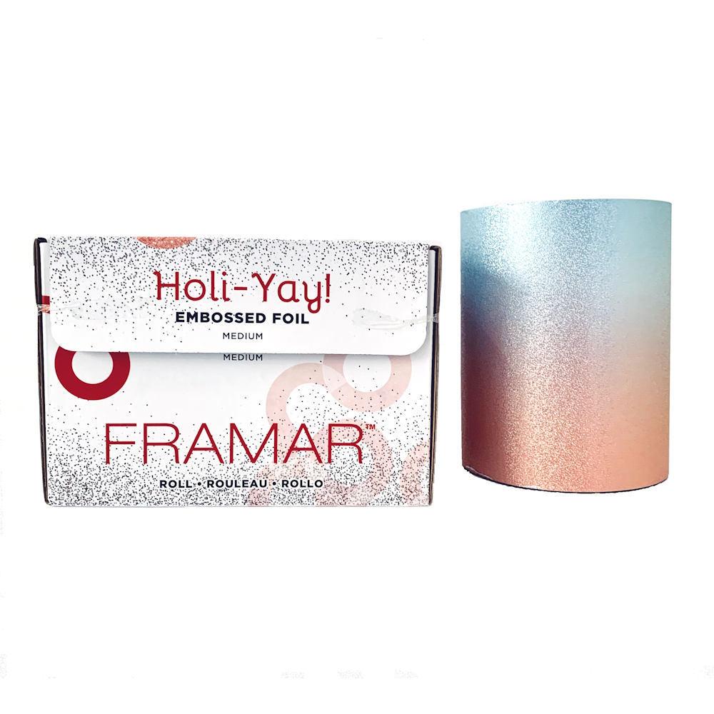 Embossed Roll Holi-Yay   Фольга в рулоне с тиснением «Вдохновение праздника» Holi-Yay 2019