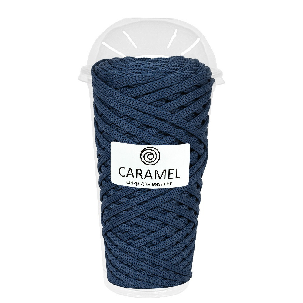 Шнур Caramel (70 метров) Полиэфирный шнур Caramel Джинс Джинс.jpg