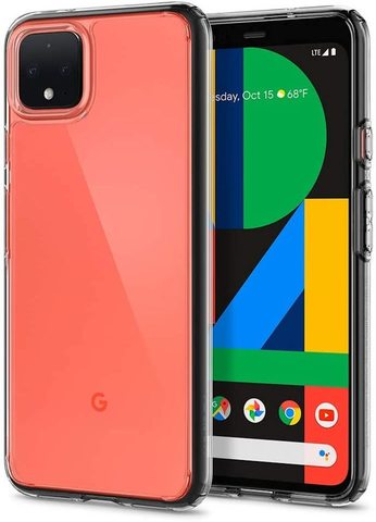 Чехол Spigen Ultra Hybrid для Google Pixel 4 Case (2019) - Crystal Clear