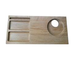 Поднос деревянный малый