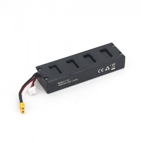 Аккумулятор для MJX Bugs 3 Li-Po 7.4V 1800 mAh 25C - B30018
