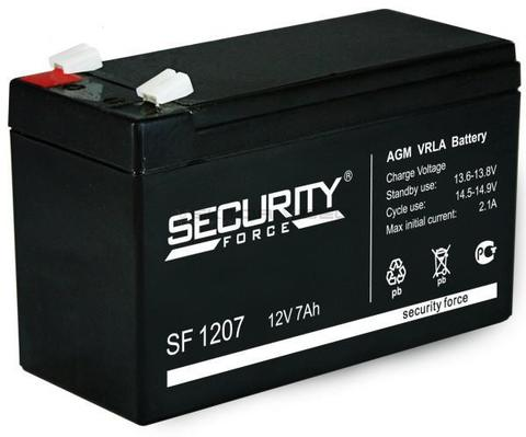 Аккумулятор для Электромобиля Security Force 12V/7Ah