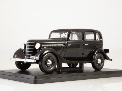 GAZ-11-73 black 1:24 Legendary Soviet cars Hachette #32