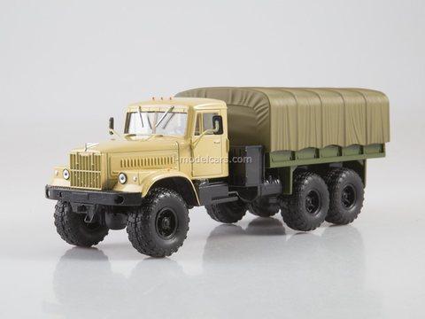 KRAZ-255B1 flatbed truck 1:43 Legendary trucks USSR #34