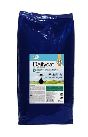 DailyCat Senior Chicken and Rice для пожилых кошек с курицей и рисом - 10 кг 10 кг
