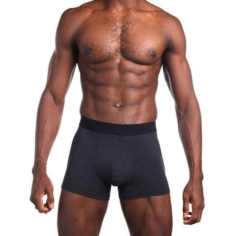 Мужские трусы боксеры черные Sergio Dallini SG2953-1