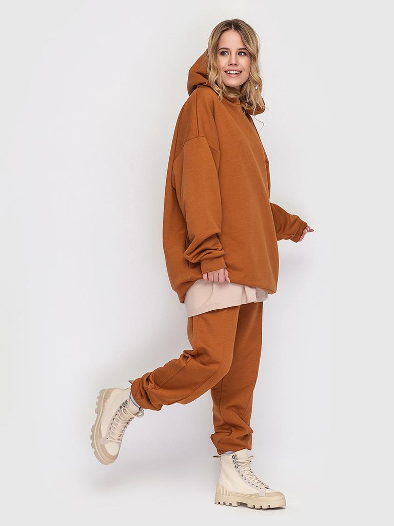 Худи трикотажное ириска YOS от украинского бренда Your Own Style