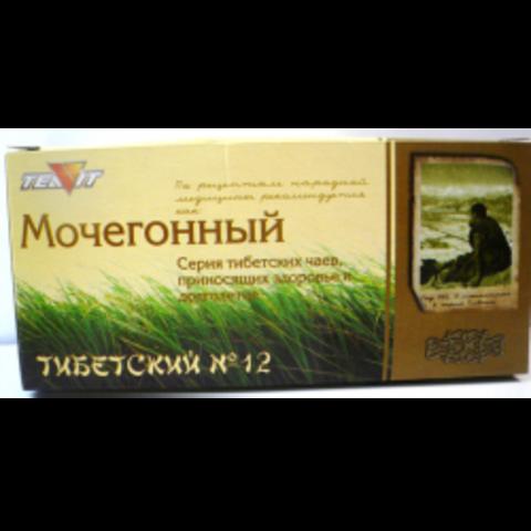 Чай Тибетский № 12 мочегонный, 20 пак. (Тиавит)