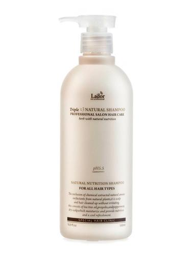 Lador Шампунь для волос с натуральными ингредиентами Triplex Natural Shampoo 530ml ЛД28.jpg