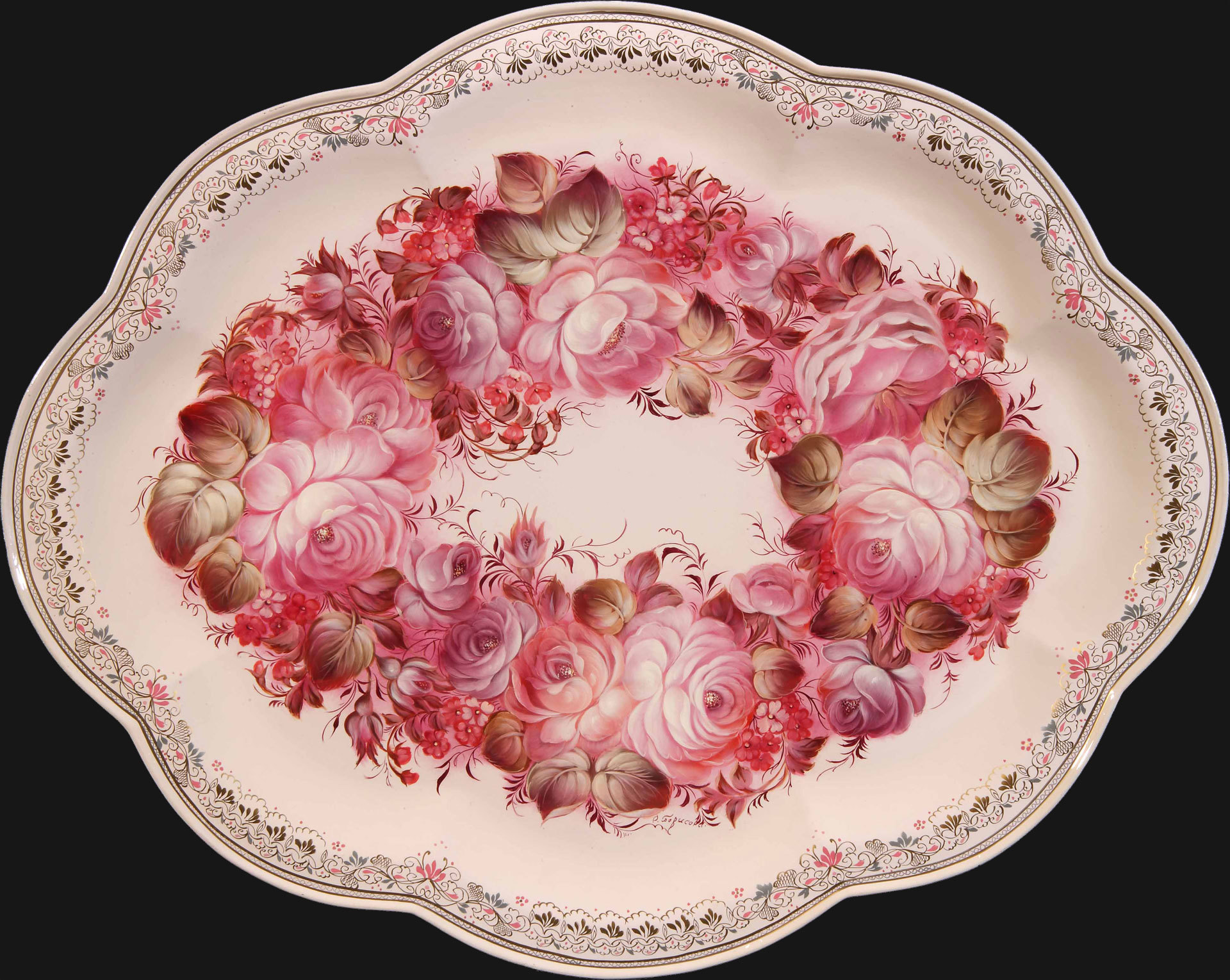 Chaplet of roses