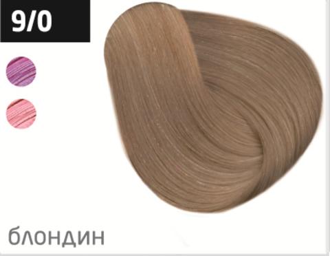 OLLIN color 9/0 блондин 60мл перманентная крем-краска для волос