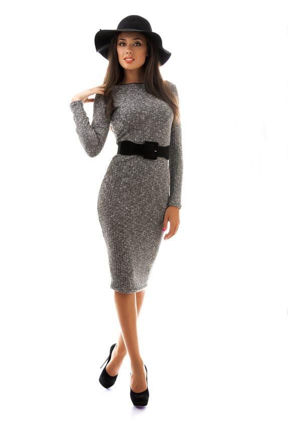 Платье чулок с поясом