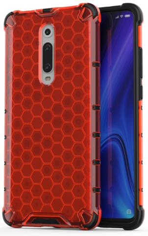 Красный чехол для Xiaomi Mi 9T и 9T Pro от Caseport, серия Honey