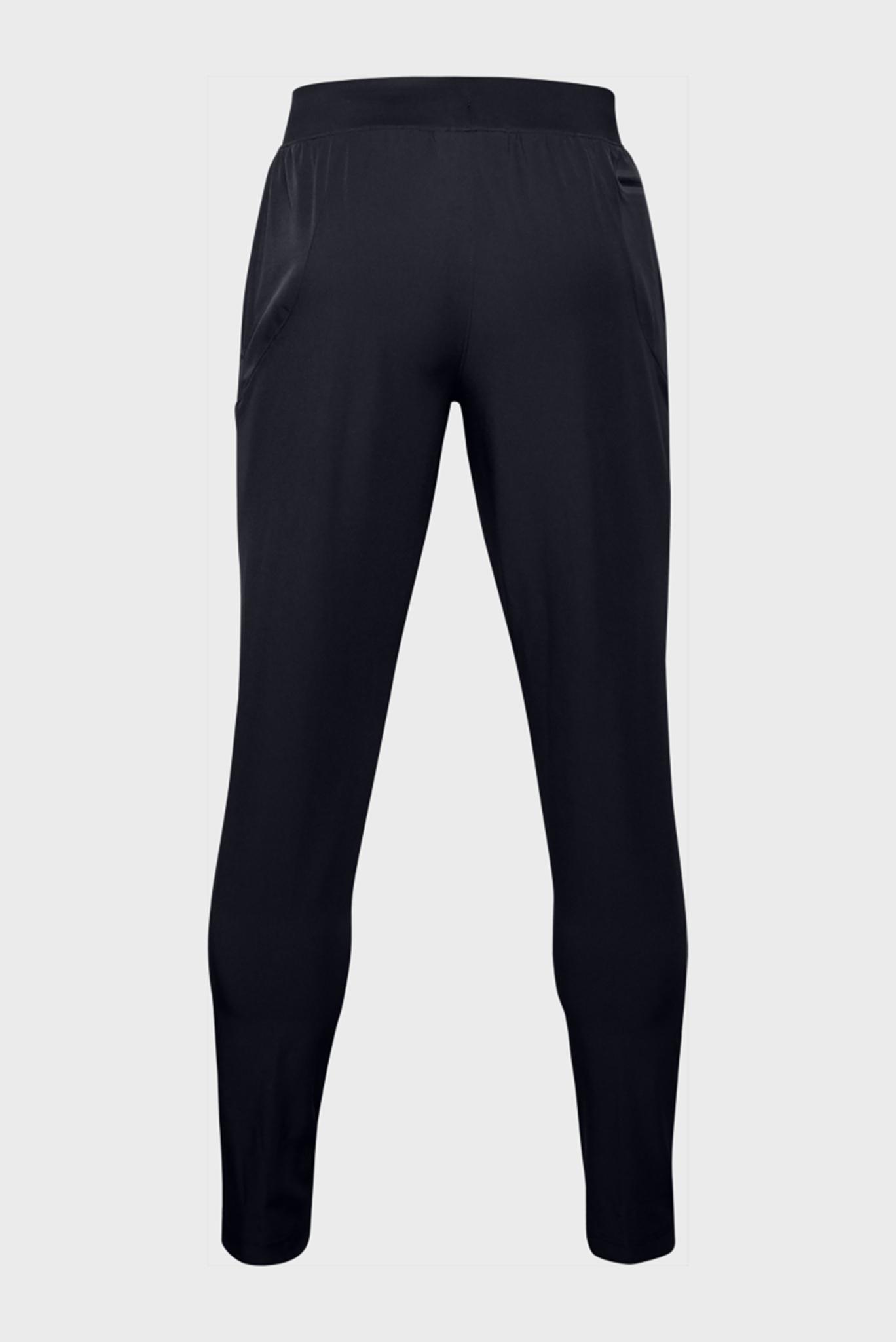 Мужские черные спортивные брюки STRETCH WOVEN UTILITY TAPERED PANT Under Armour