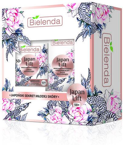 BIELENDA Japan Lift 50+ Подарочный набор (крем для лица 50мл + крем вокруг глаз 15мл)