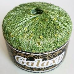 цвет 108 / ярко-зелёный травяной люрекс с пайетками в цвет