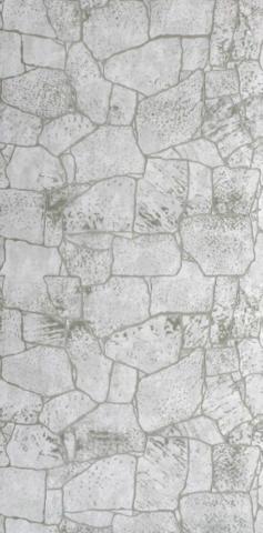 Листовая панель МДФ Акватон Камень Белый серый 2440х1220 мм